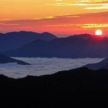 十津川村 玉置展望台からの雲海